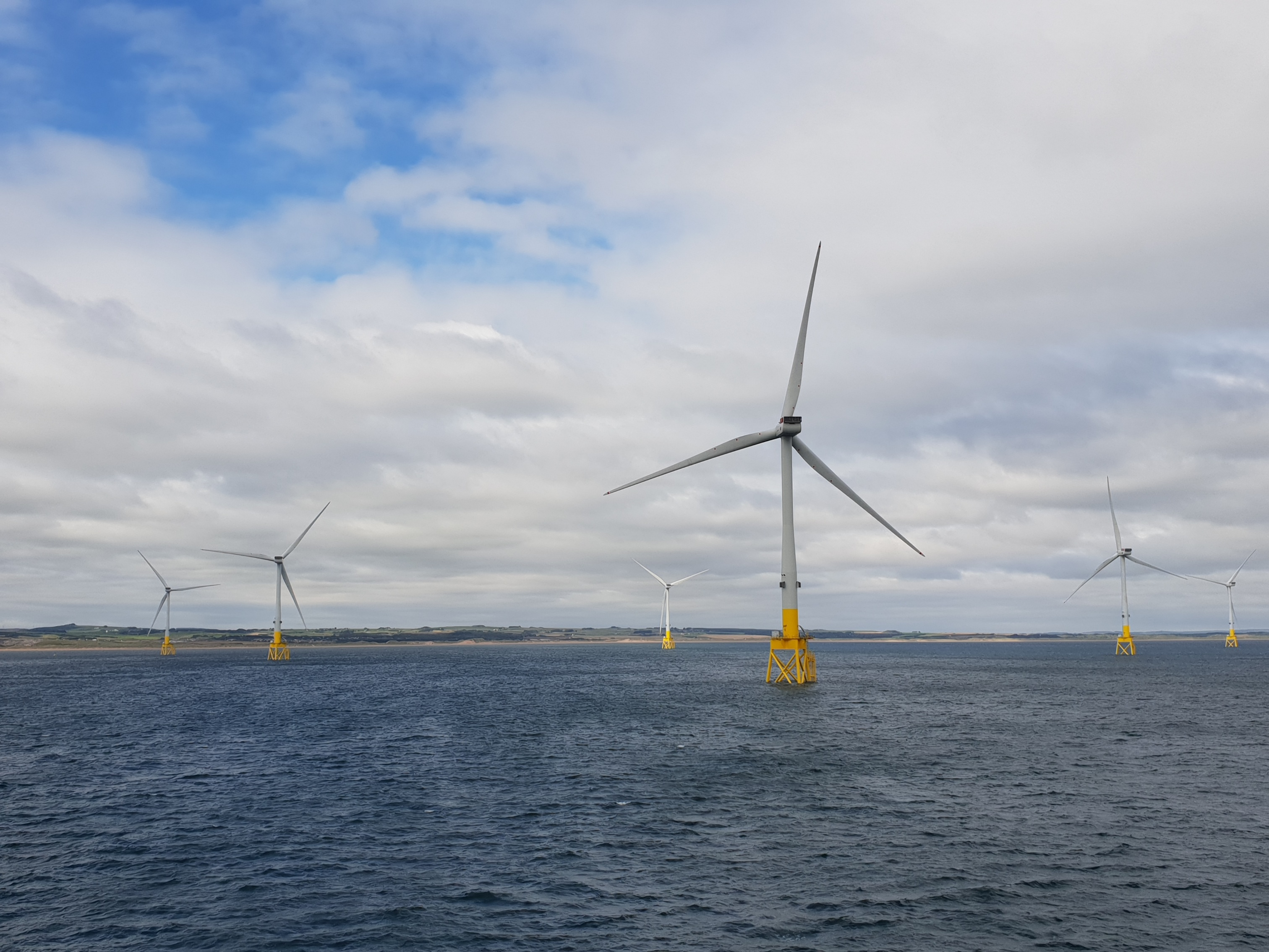 World energy leaders to visit Aberdeen offshore windfarm