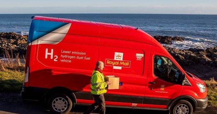 MEMBER NEWS: Hydrogen-powered post van makes Christmas deliveries in Aberdeen