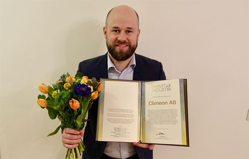 MEMBER NEWS: Climeon wins the Royal Swedish Academy of Engineering Sciences' award for Smart Industry