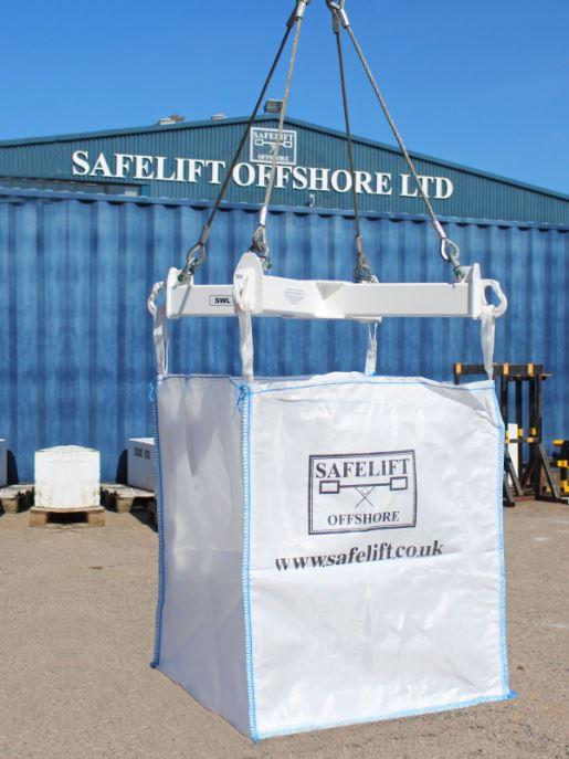 MEMBER NEWS: Specialist material handling equipment manufacturer Safelift Offshore launch Big Bag Spreader frame design